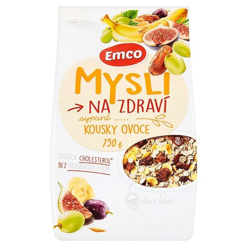 Emco Mysli na Zdraví Mysli sypané kúsky ovocia 750 g