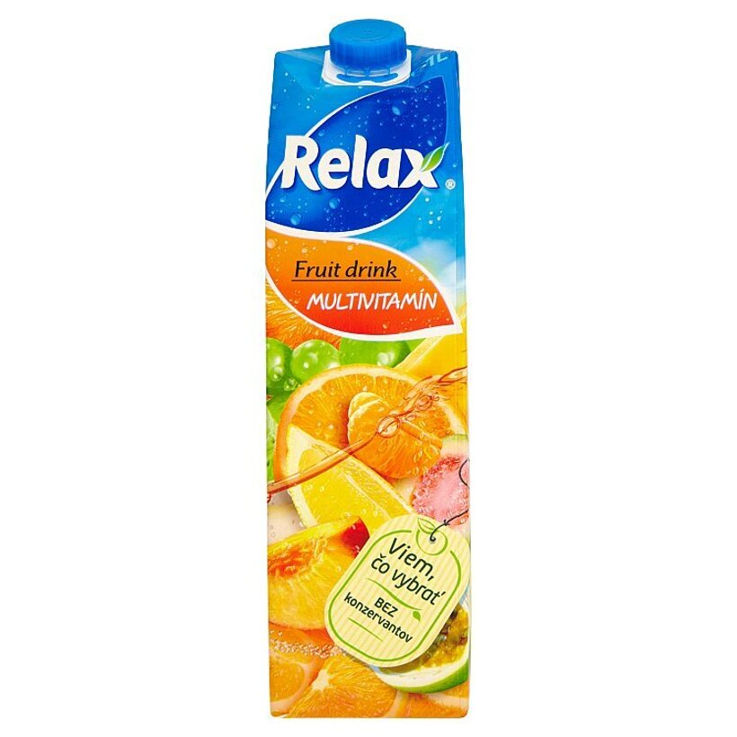 Relax Fruit Drink multivitamín 1 l