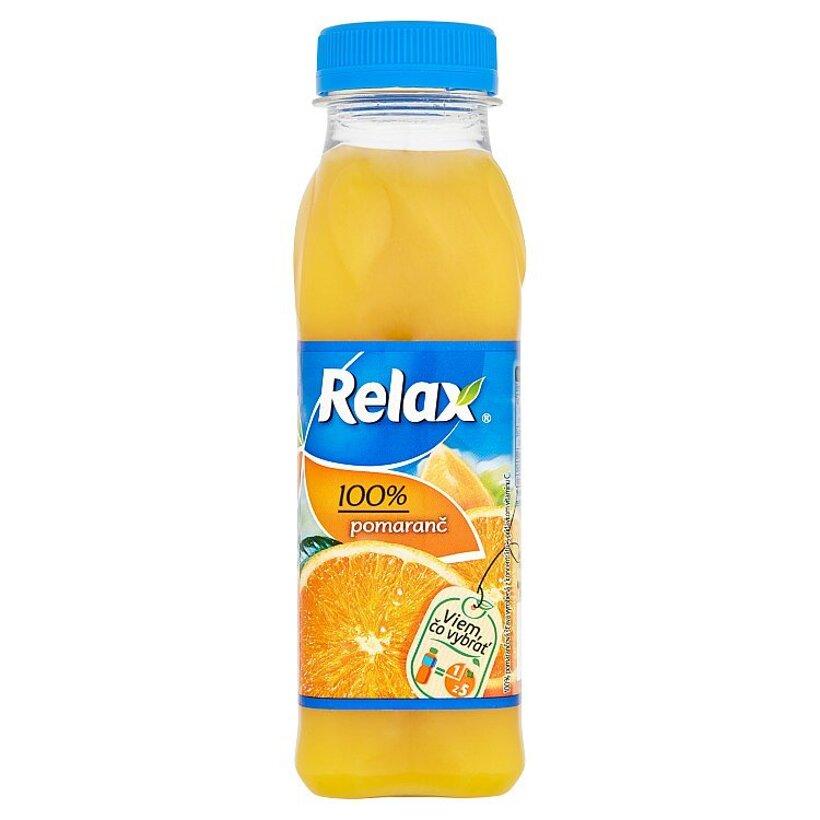 Relax 100% pomaranč 300 ml