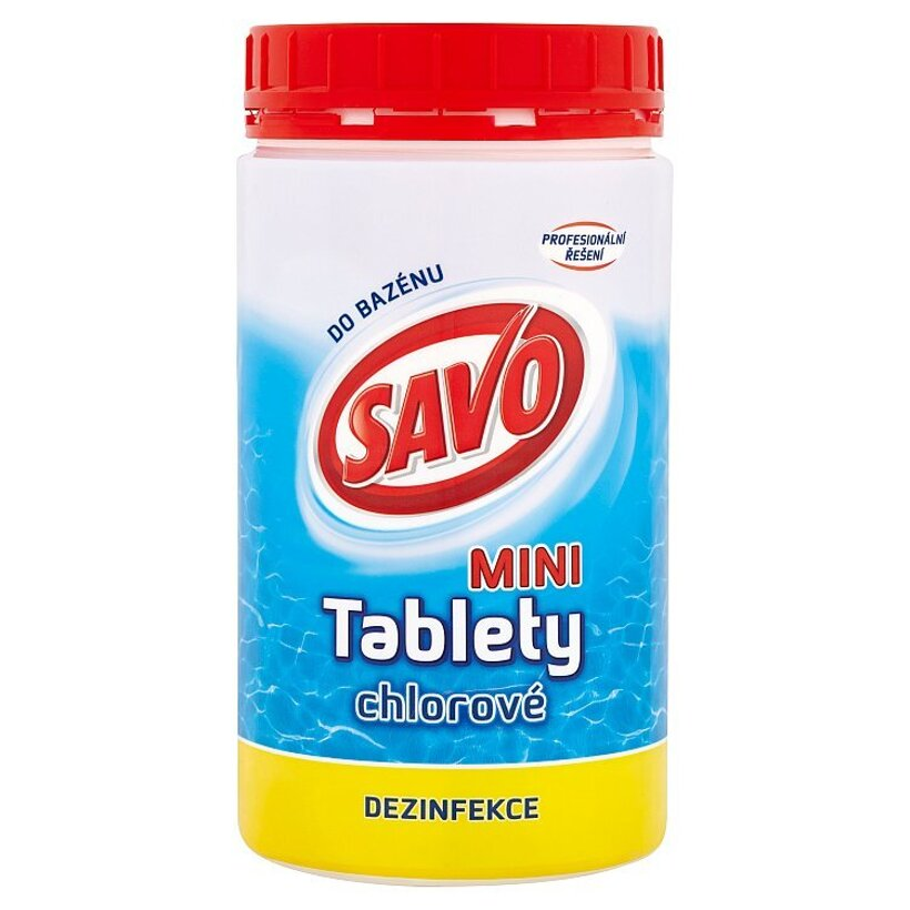 Savo Do Bazénu Mini chlórové tablety 900 g