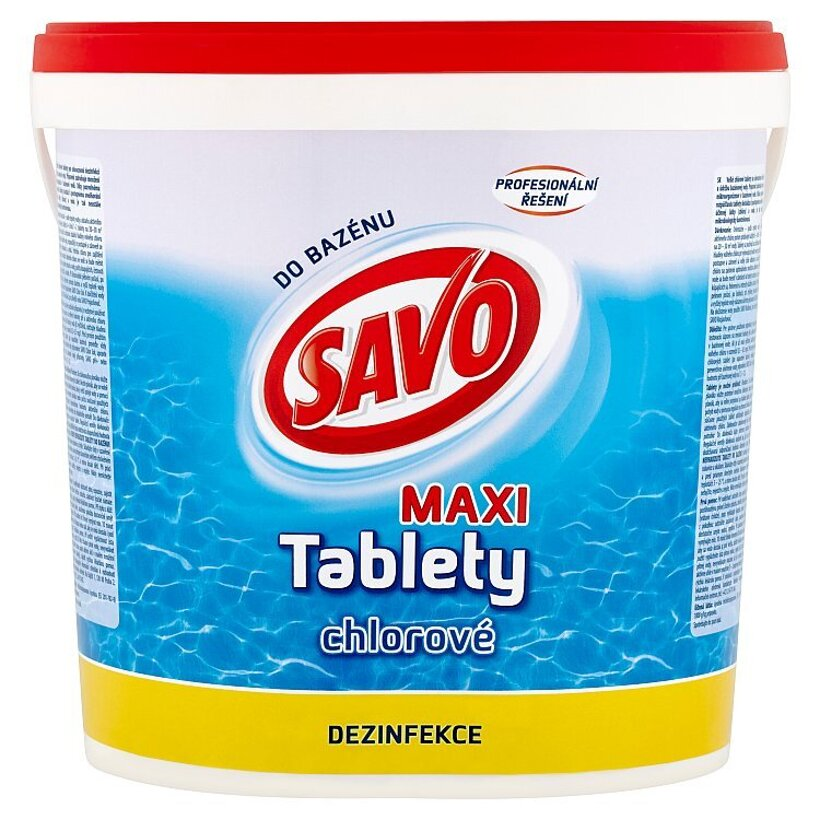 Savo Do Bazénu Maxi chlórové tablety 4,6 kg