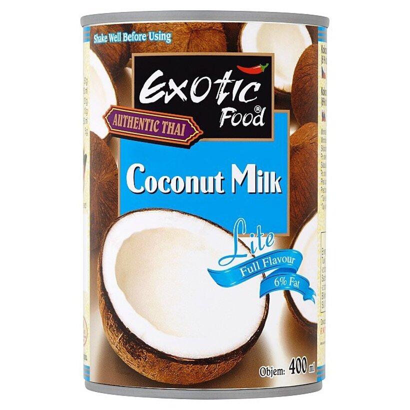 Exotic Food Authentic Thai Lite kokosové mlieko 400 ml