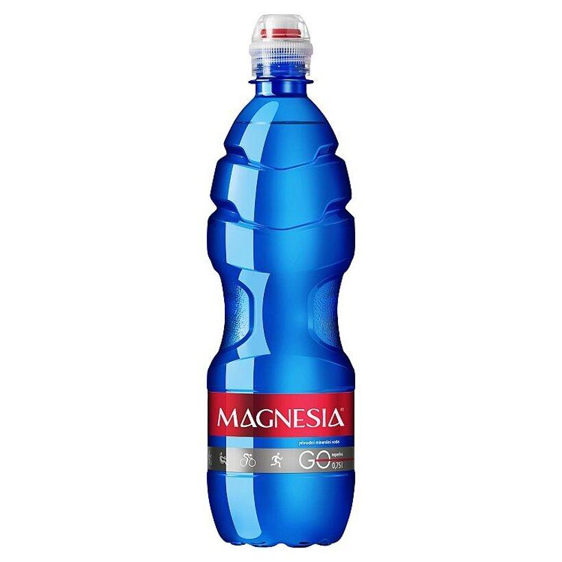 Magnesia Go prírodná minerálna voda neperlivá 0,75 l
