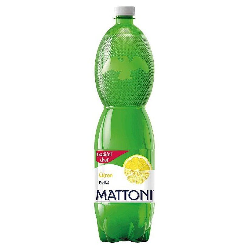 Mattoni Citrón perlivá 1,5 l