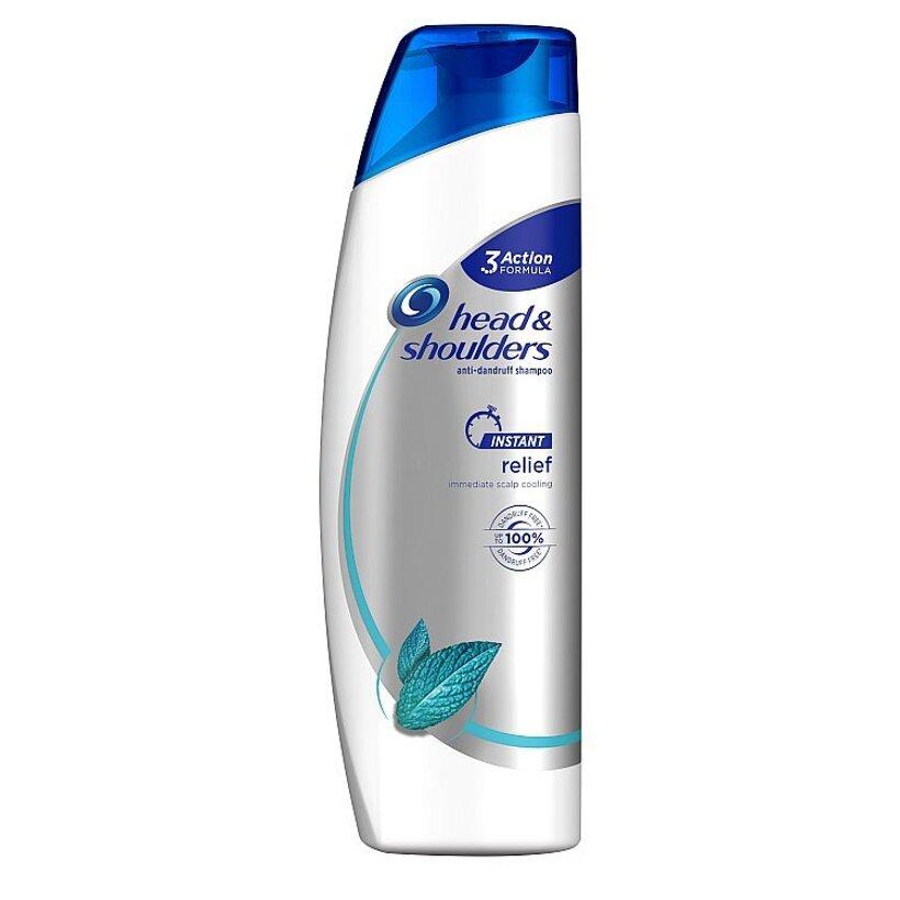 Head & Shoulders Instant Relief Šampón Proti Lupinám 225 ml