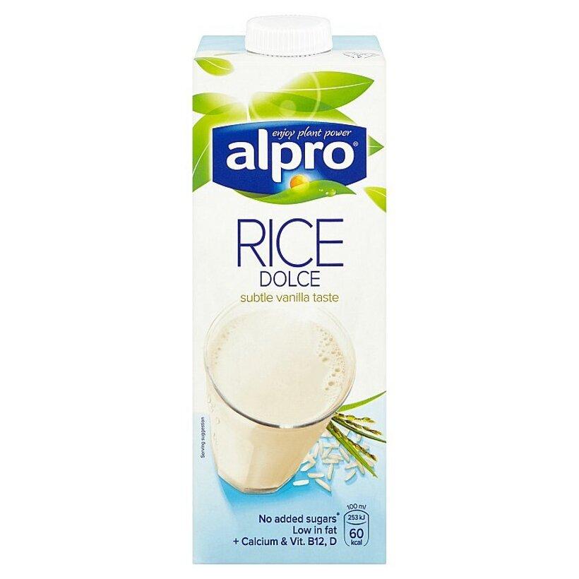 Alpro Ryžový nápoj s vanilkovou príchuťou 1 l