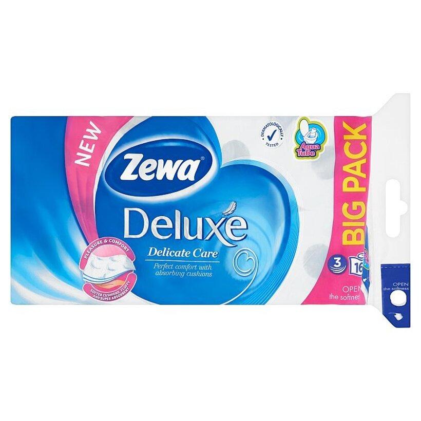 Zewa Deluxe Delicate Care toaletný papier 3-vrstvový 16 ks