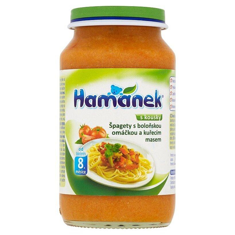 Hamánek Špagety s bolonskou omáčkou a kuracím mäsom 230 g