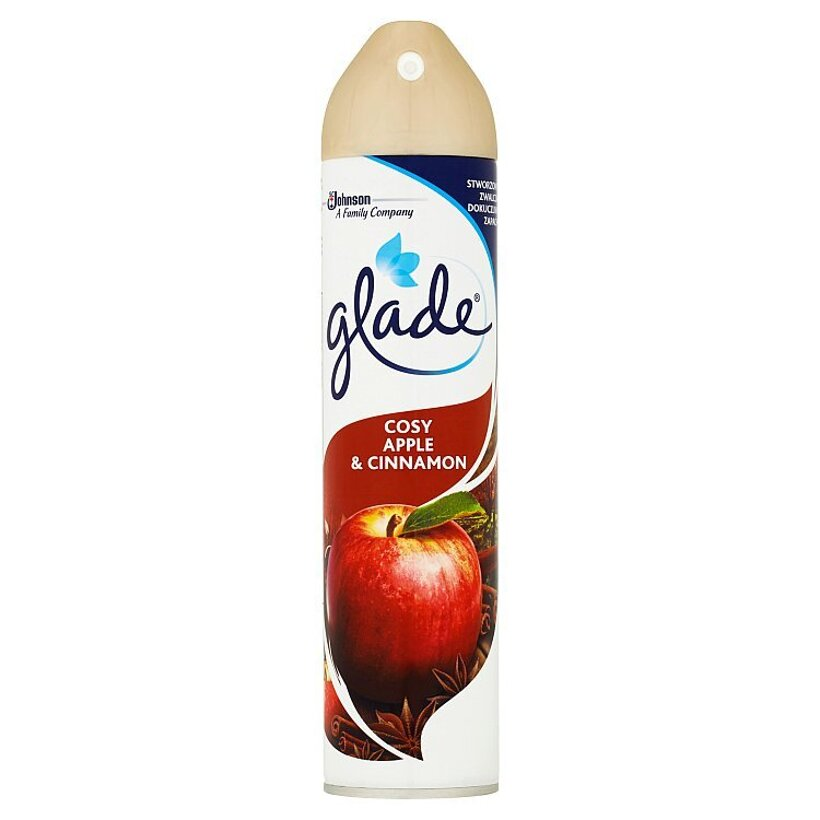Glade Cosy Apple and Cinnamon aerosól 300 ml