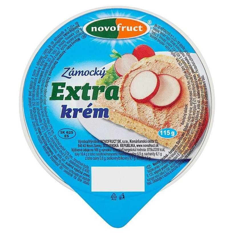 Novofruct Zámocký extra krém 115 g