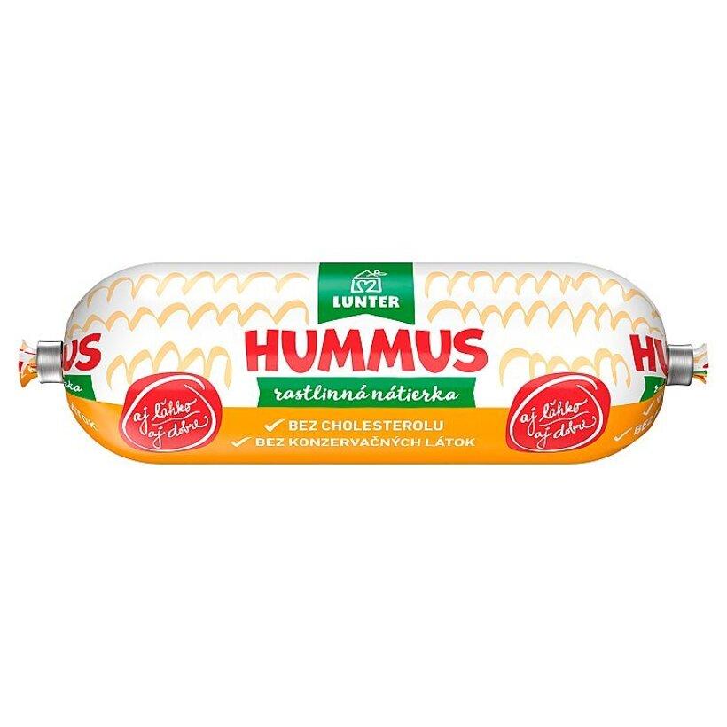 Lunter Hummus rastlinná nátierka 100 g