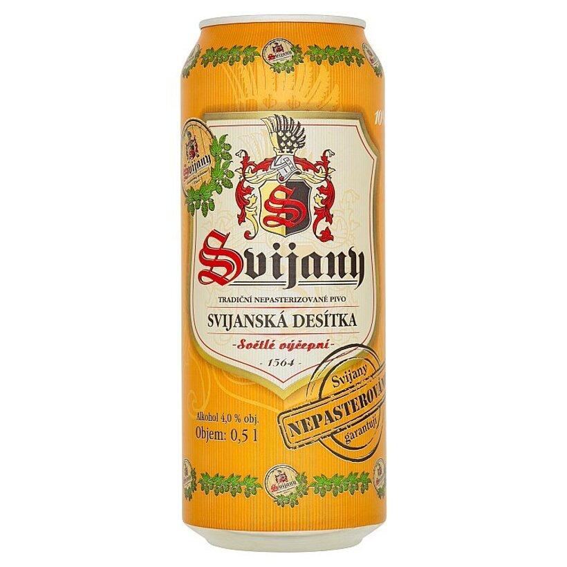 Svijany Svijanská desítka výčapné svetlé pivo 0,5 l