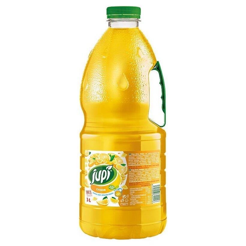 Jupí Sirup citrón 3 l