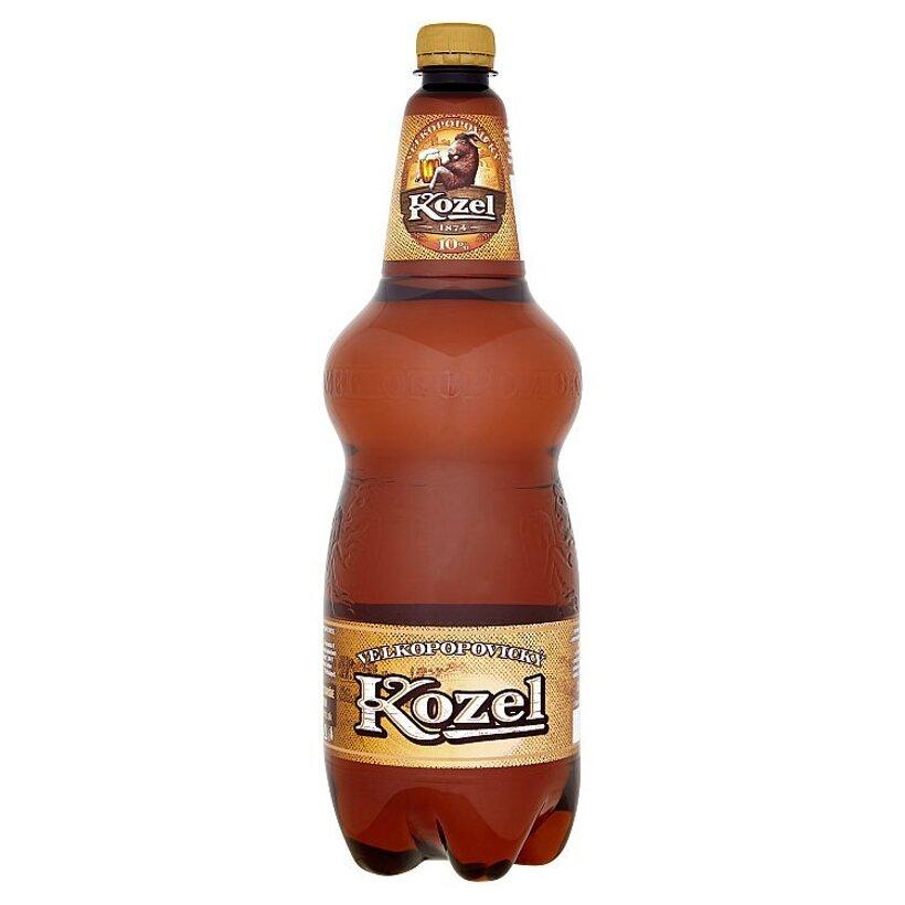 Velkopopovický Kozel 10% pivo výčapné svetlé 1,5 l