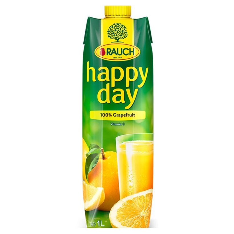Rauch Happy Day 100% grapefruit 1 l
