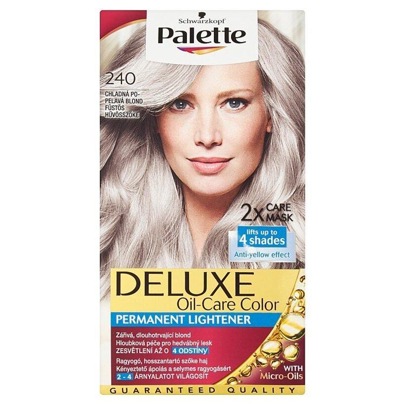 Schwarzkopf Palette Deluxe farba na vlasy Chladný Popolavý Blond 240