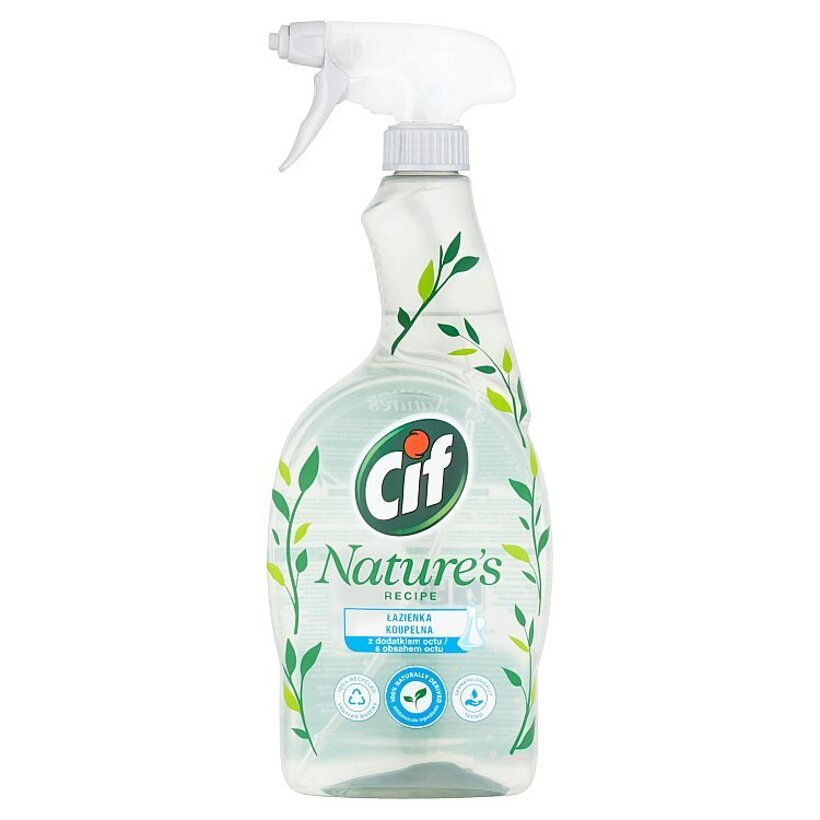 Cif Nature's Recipe kúpelňa čistiaci sprej 750 ml