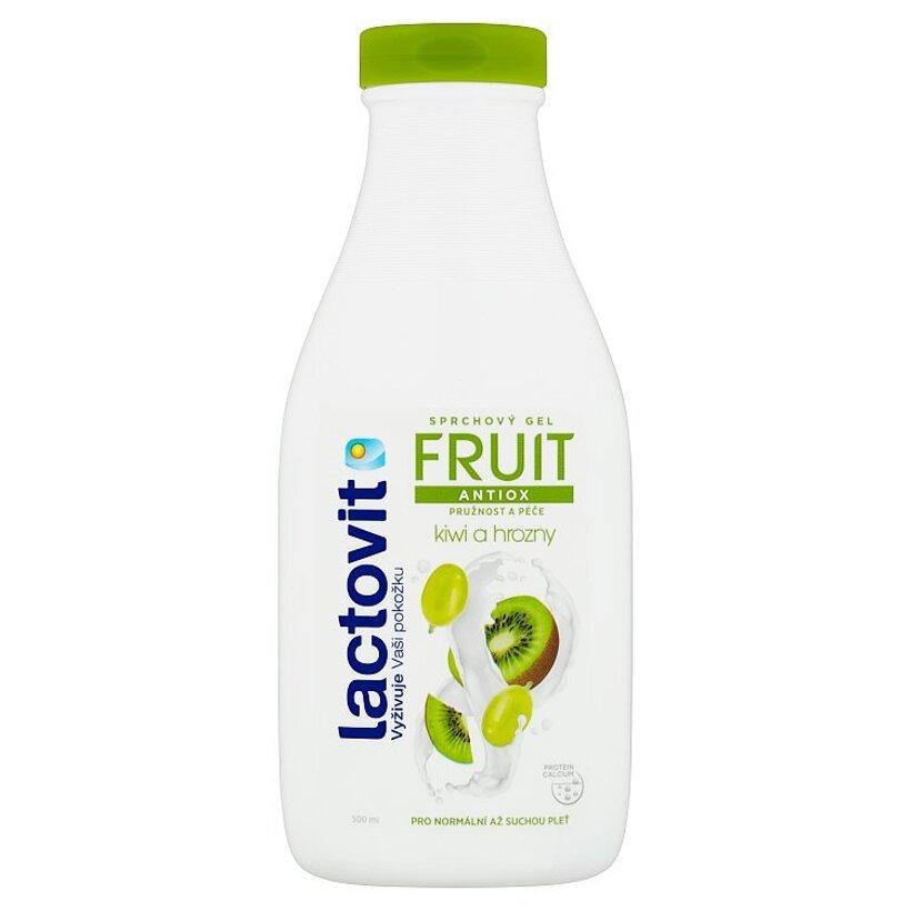 Lactovit Fruit Antiox kiwi a hrozno sprchový gél 500 ml