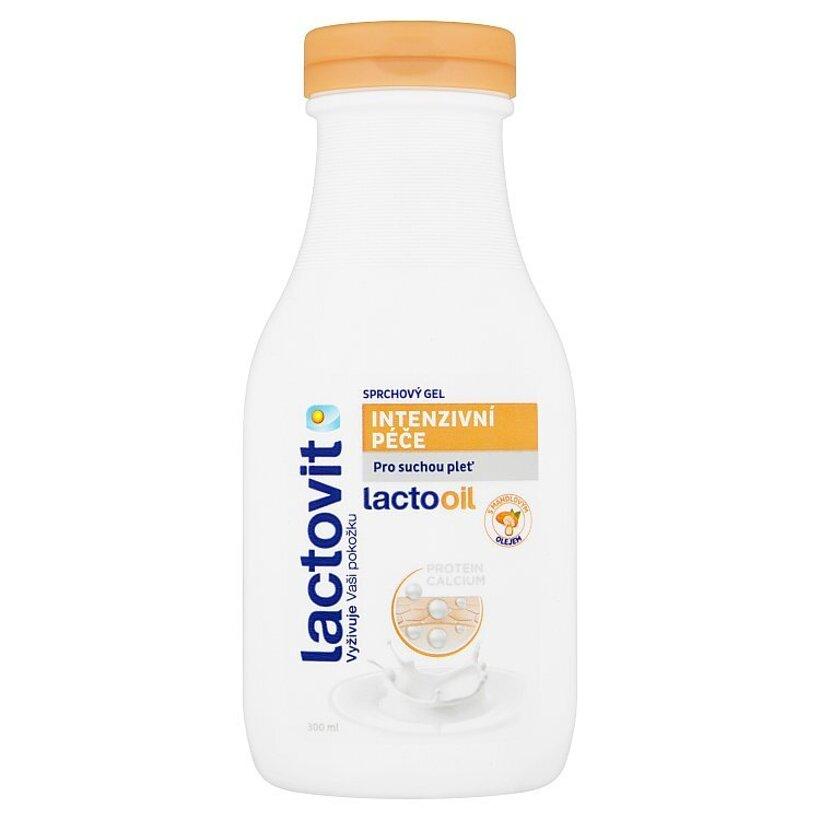 Lactovit Lactooil intenzívna starostlivosť sprchový gél 300 ml