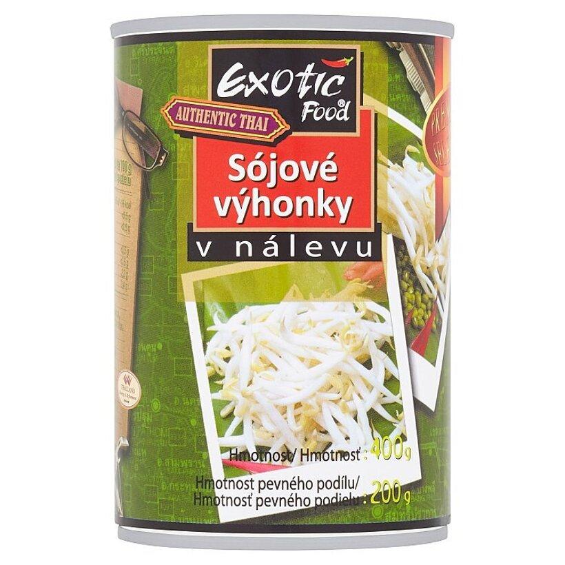 Exotic Food Authentic Thai Sójové výhonky v náleve 400 g