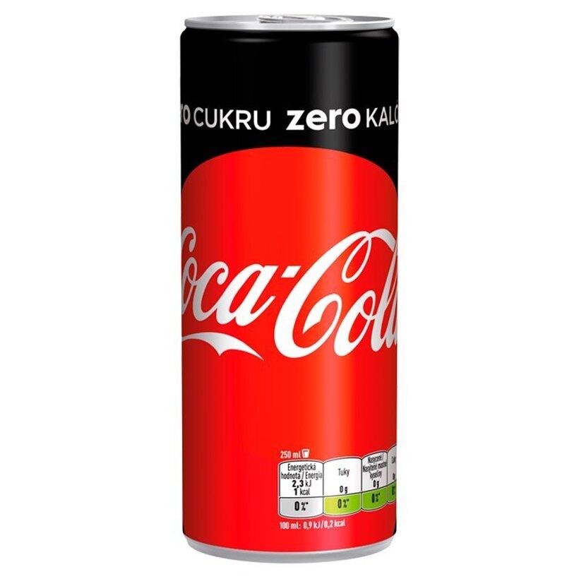 Coca-Cola Zero, 250 ml