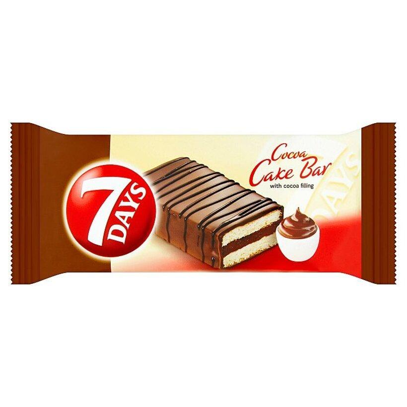 7 Days Cake Bar s kakaovou náplňou s čokoládovou polevou celomáčaný 32 g