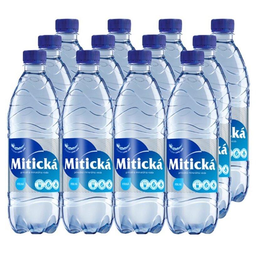 Mitická Prírodná minerálna voda perlivá 12 x 0,5 l