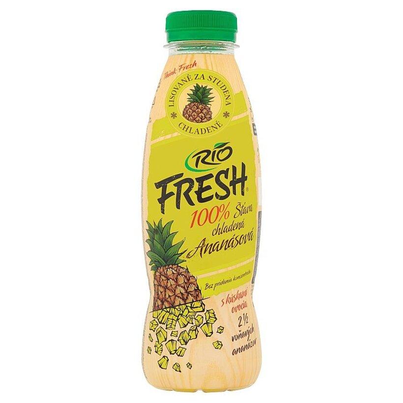 RIO FRESH 100% šťava chladená ananásová 450 ml