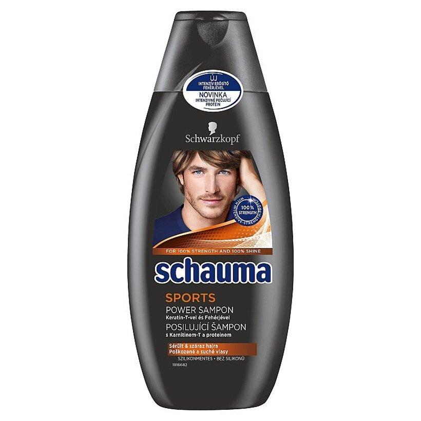Schauma šampón Sports Power 400 ml