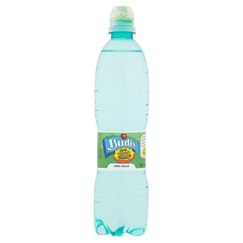 Budiš Prírodná minerálna voda jemne perlivá 0,6 l