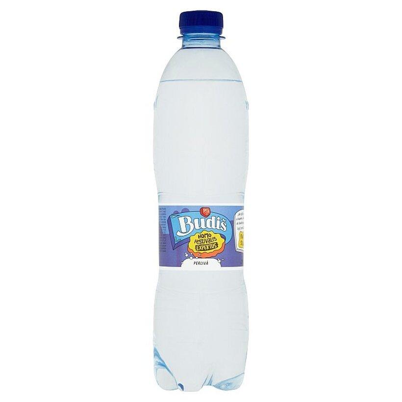Budiš Prírodná minerálna voda perlivá 0,6 l