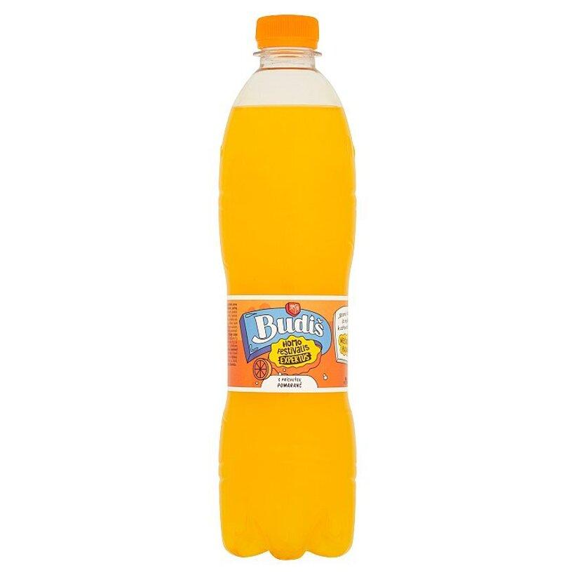 Budiš S príchuťou pomaranč 0,6 l