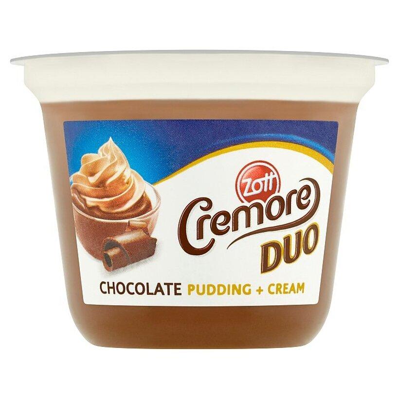 Zott Cremore Duo mliečny čokoládový dezert s kakaovou šľahačkou 190 g