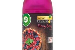 Air Wick Freshmatic Essential Oils náplň do osviežovača vzduchu vôňa zimného ovocia 250 ml