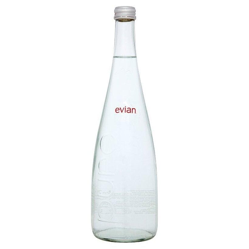 Evian Prírodná minerálna voda nesýtená 0,75l