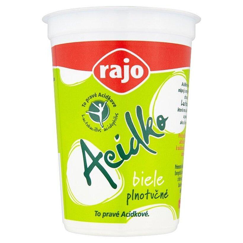 Rajo Acidko Zakysané mlieko biele plnotučné 250 g
