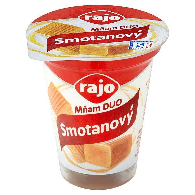 Rajo Mňam Duo Smotanový jogurt karamelový 145 g