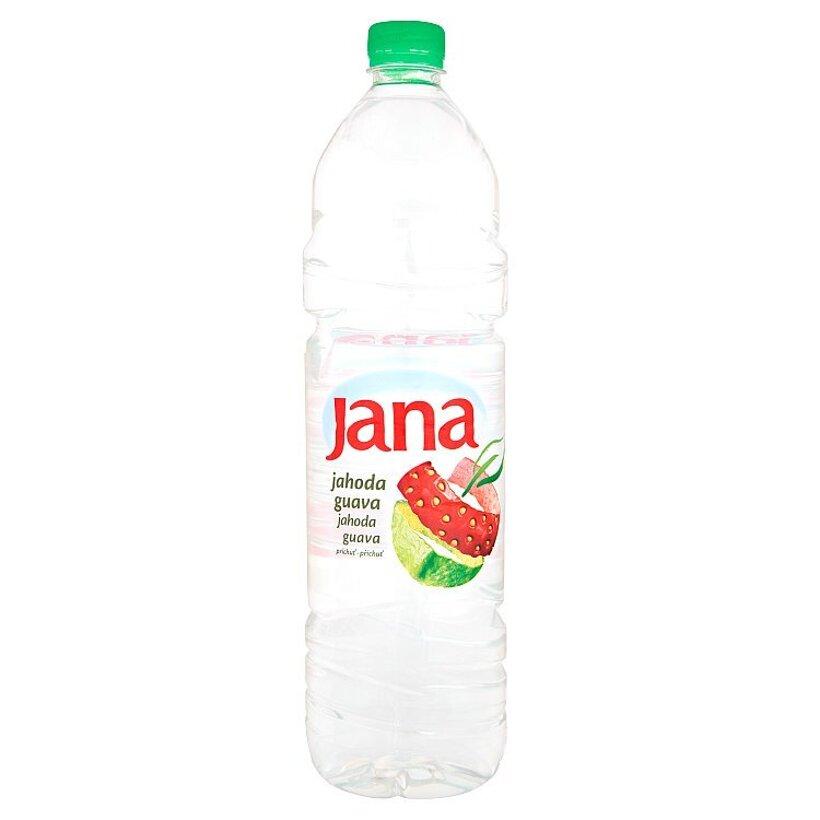 Jana Nízkoenergetický nesýtený nápoj príchuť jahoda guava 1,5 l