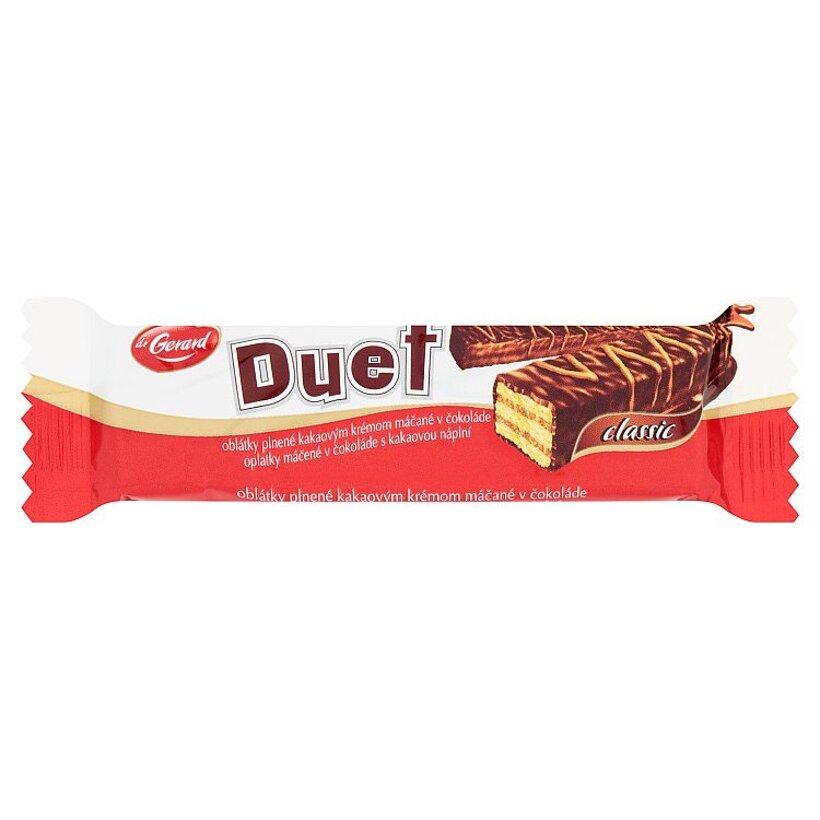 Dr. Gerard Duet oblátky plnené kakaovým krémom máčané v čokoláde 21 g