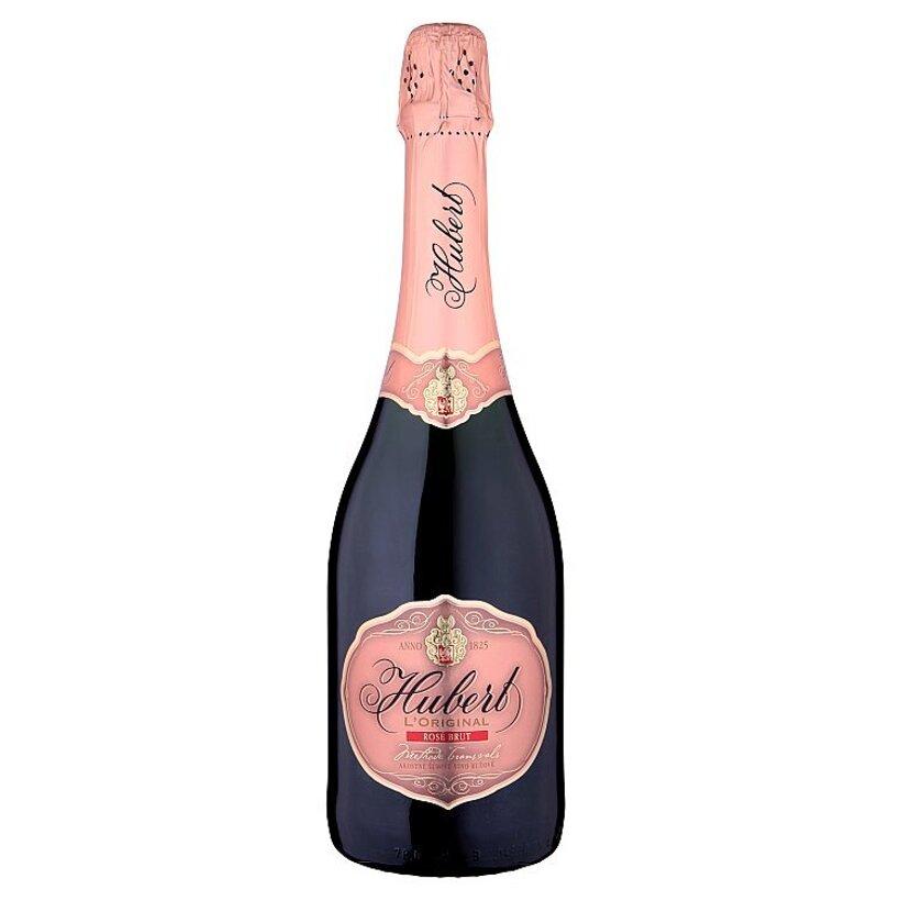 Hubert L' Original Rose akostné šumivé víno ružové brut 0,75 l
