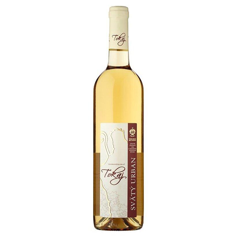 Tokaj Svätý Urban polosladké biele víno 0,75 l