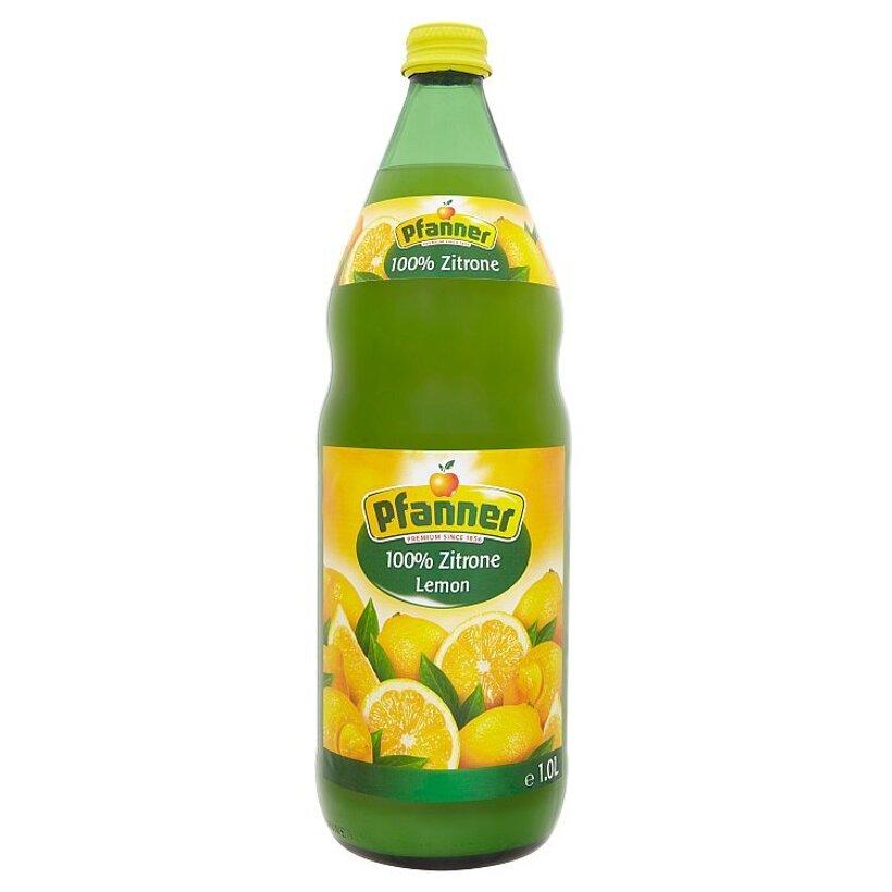 Pfanner 100% citrónová šťava vyrobená z koncentrátu 1,0 l