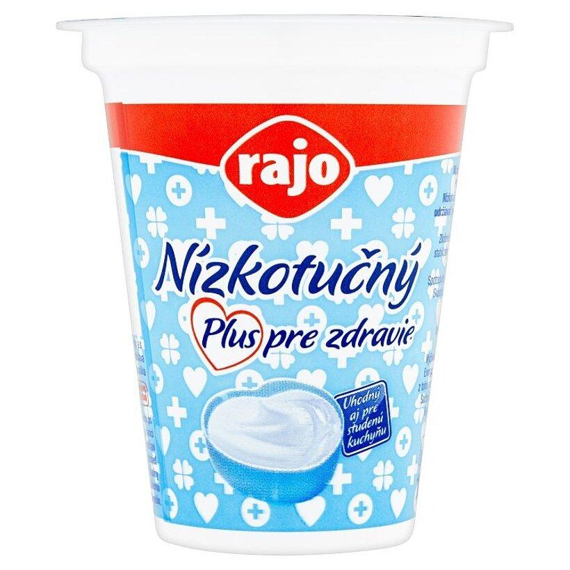 Rajo Nízkotučný jogurtový krém biely 145 g