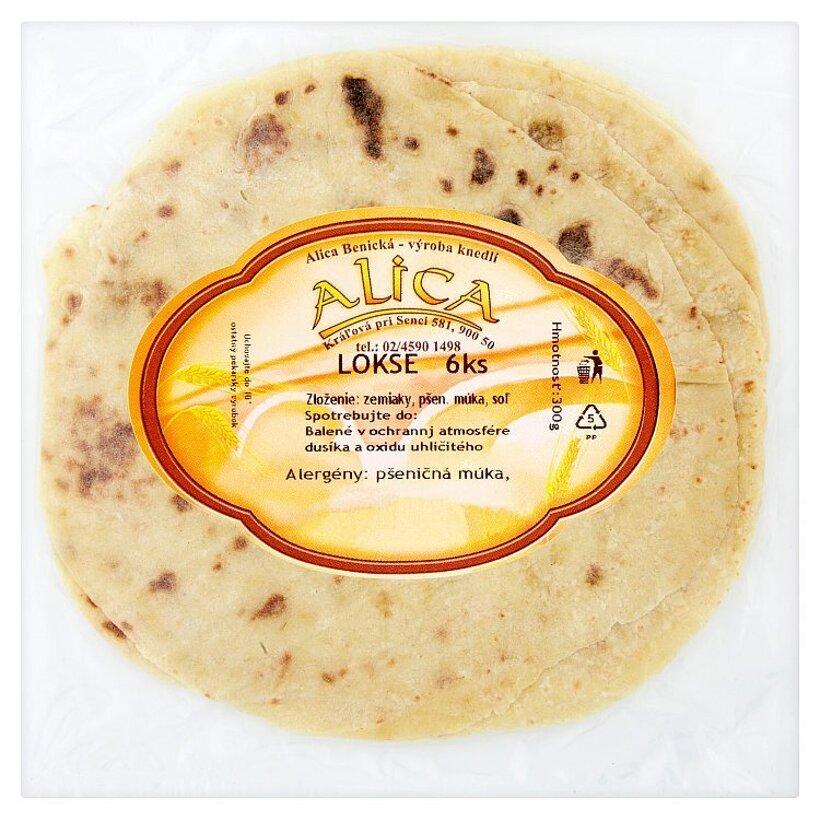 Alica Lokše 6 ks 300 g
