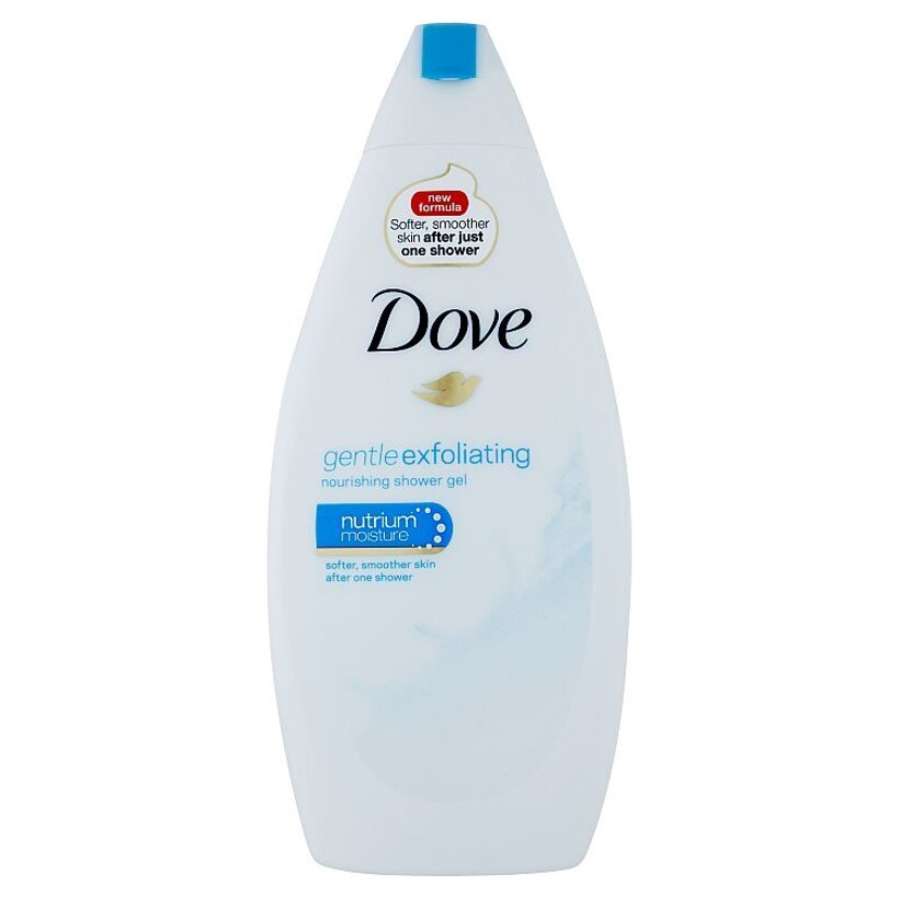Dove Gentle Exfoliating vyživujúci sprchovací gél 500 ml