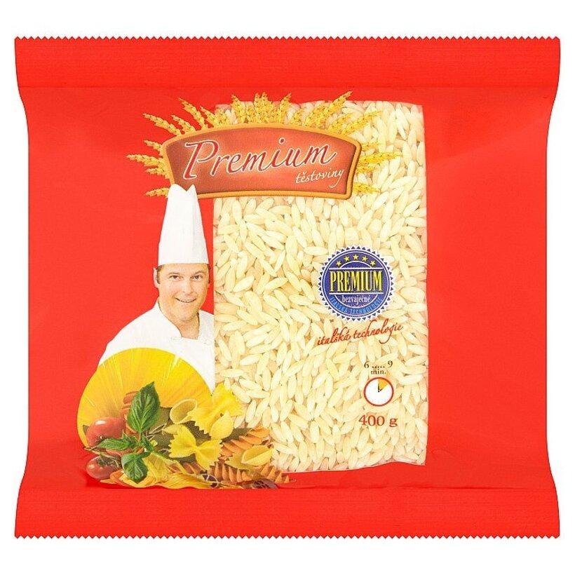 Premium Bezvaječné cestoviny pšeničné ryža 400 g