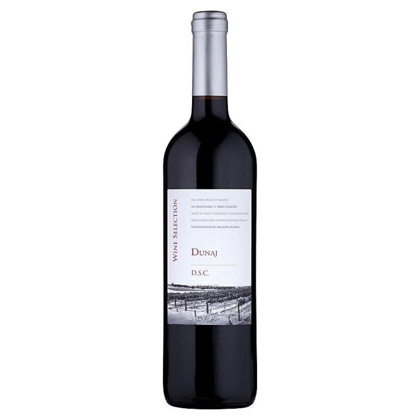 Wine Selection Dunaj askotné víno červené suché 0,75 l