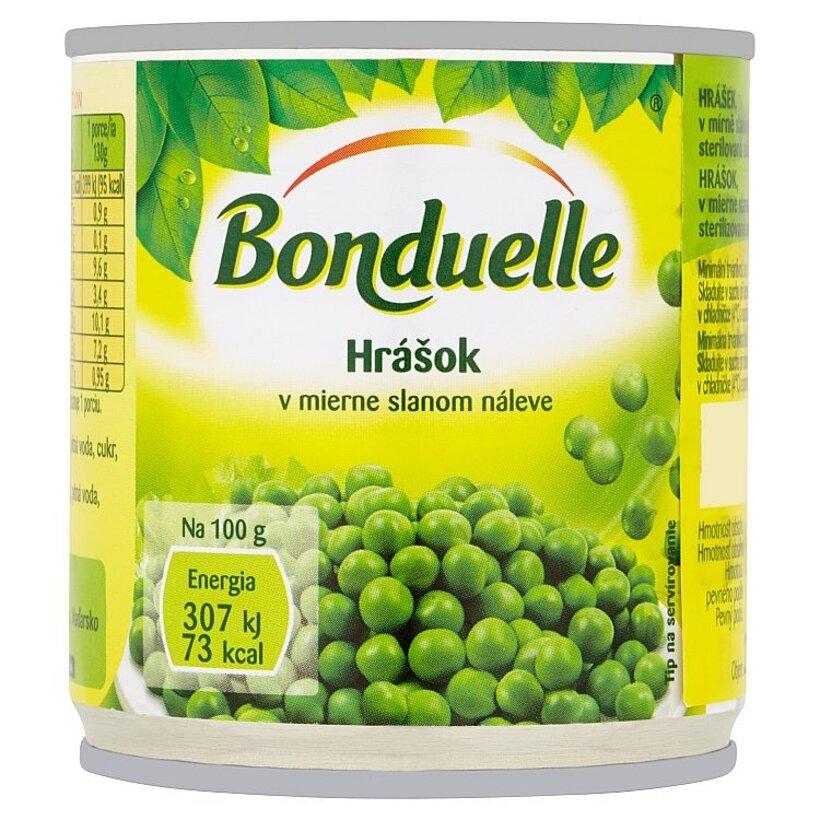 Bonduelle Hrášok v mierne slanom náleve 200 g
