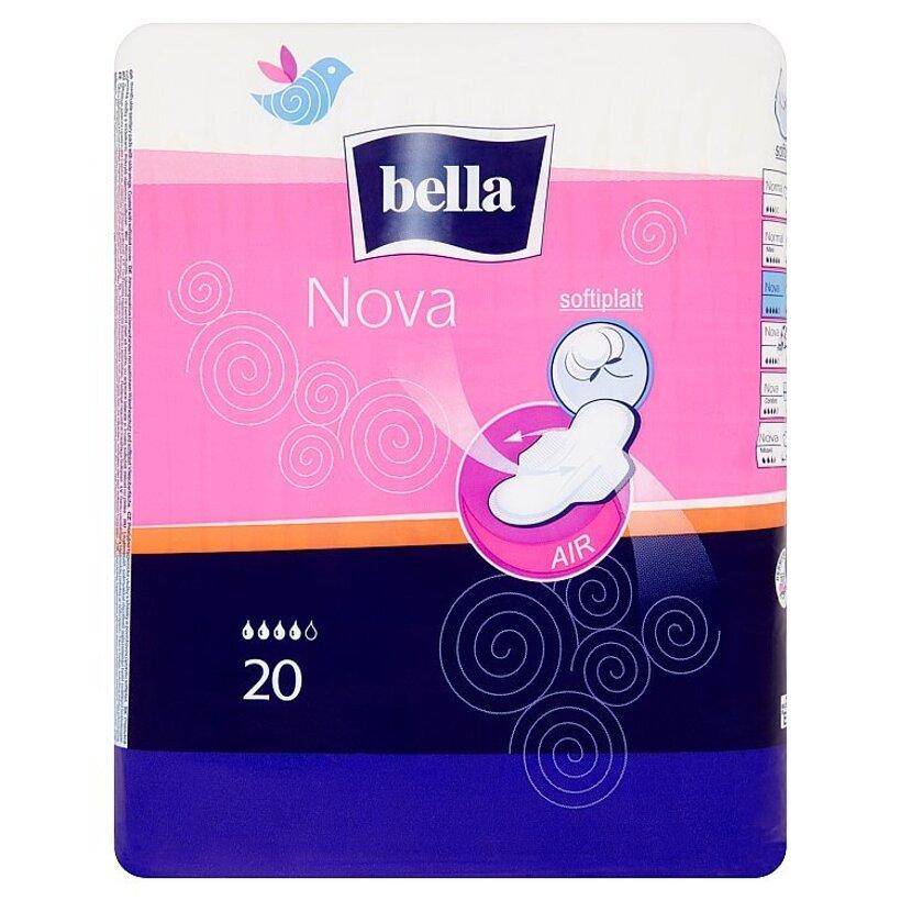 Bella Nova priedušné hygienické vložky s krídelkami 20 ks