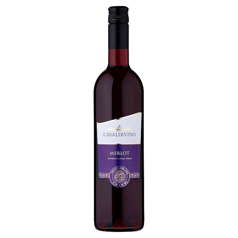 Casaldivino Merlot víno červené suché 0,75 l